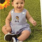 New Look Sewing Pattern 6970 Infant Baby Dress Panties Romper Size NB-L New