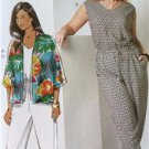 Butterick Sewing Pattern 6224 Misses Ladies Kimono Jumpsuit Size 26W-32W New