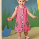#New Look Sewing Pattern 6061 Infant Baby Romper Dress Panties Hat Size NB-L New