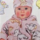 Butterick Sewing Pattern 5584 Baby Infant Jacket Pants Hat Mittens Size NB-M New