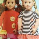 "Kwik Sew Sewing Patterns 3965 18"" Doll Clothes Purse Dress Pants New"