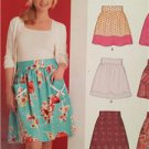New Look Sewing Pattern 6872 Ladies Misses Skirts Size 6-16 New