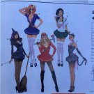 Simplicity Sewing Pattern 2072 Ladies Misses Costume Sailor Cat Witch Size 14-22