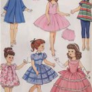 "Butterick Sewing Pattern 5864 18"" Doll Clothes Retro 1956 Wardrobe New Dress"