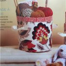 Butterick Sewing Pattern 6362 Round or Square Fabric Storage Bins Size O/S New