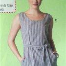 McCalls Sewing Pattern 7120 Misses Ladies Dress Belt Size L-XXL 16-26 New