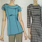 Vogue Sewing Pattern Very Easy Vogue 8886 Misses Top Dress Pants Size 16-24 New