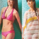 Kwik Sew Sewing Pattern 4003 Misses Ladies Swimsuit Cover Ups Size XXS-XL New