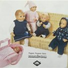 Burda Sewing Pattern 8591 40-45 & 50-50cm Baby Doll Clothes Jacket Dress New