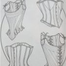 Butterick Sewing Pattern 4254 Misses 18th 19th Century Corsets Size 6-10 New