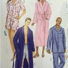 Butterick Sewing Pattern 5537 Misses/Ladies Mens Robe Belt Top Size XL-XXXL New