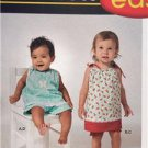 Simplicity Sewing Pattern 1188 Baby Unisex Top Pant Panties Size XXS--L