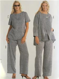 Burda Sewing Pattern 8108 Misses Plus Size Co-Ordinates Size 18-34 New