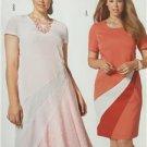 Burda Sewing Pattern 6784 Misses Plus Size Dress Size 18-28 New