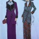 Butterick Sewing Pattern 6108 Ladies Misses Jacket Bib Skirt Size 14-22 New