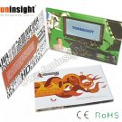 Bespoke 4.3'' Video Brochure LCD Sales Tool Promotional Gifts FVB432