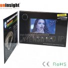 5 inch Touch Screen Video Card LCD Brochure 128MB Full Color Print A5 Size