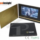 7 inch Touch Screen Video Card TV Brochure 256MB CMYK Print A5 Landscape