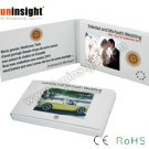 2.4 inches Video Business Card Mini LCD Player 128MB Memory VGC-024 for VIPs