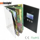4.3'' Video Tri-Fold Brochure LCD Greeting Card A5 Landscape 128MB Flash