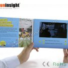 7 inch LCD Video Booklet Direct Mailer 256MB A5 Landscape for Business Events