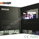 7 inches Light Sensor Video Booklet LCD Brochure 2GB A5 Portrait 12 Pages