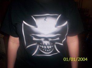 Chopper Skull Tshirt