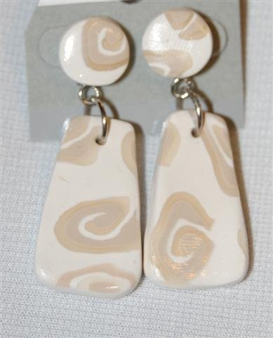 Handmade Polymer Clay Earrings - set 3