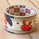 Chou Fleur Rabbit cute cartoon large deco paper tape