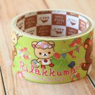 Rilakkuma Picnic cute cartoon large deco paper tape