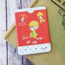 Fruit Girl cartoon card holder