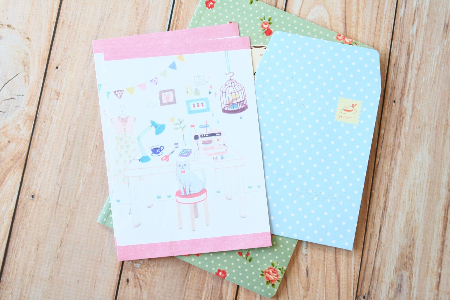 Hobby Everything You Want writing paper & envelopes letter set