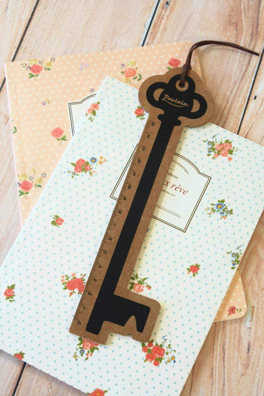 Key Poulain vintage style ruler