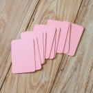 Pastel Pink blank business cards