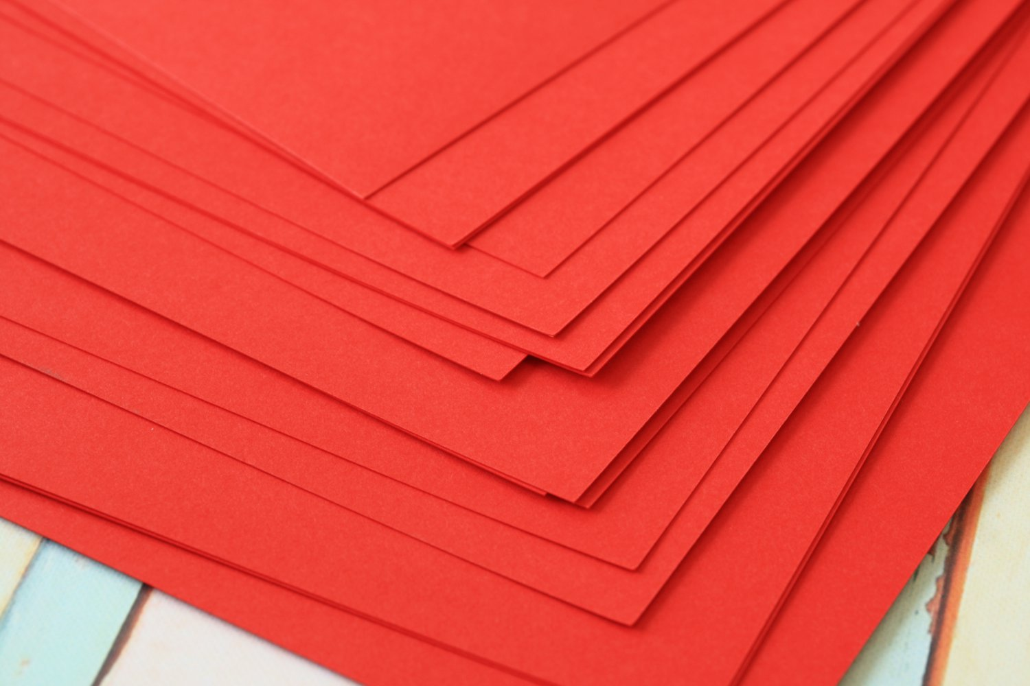 Apple Red cardstock 260gsm 95lbs cover A4 size