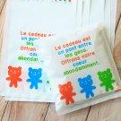 Cute Teddy Bear plastic bags