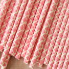 Hot Pink Damask paper straws