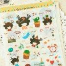 CMToo Yumma Girl & Deer cartoon scrapbooking diary stickers