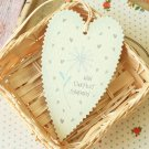Deepest Sympathy East of India Large Heart gift tags