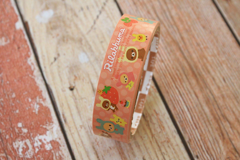 Lovely Strawberry Rilakkuma cute cartoon medium deco paper tape