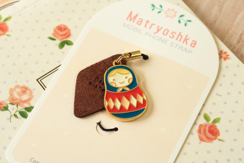 U-Pick Matryoshka Cute Doll Phone Charm