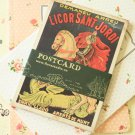 Florastudio Victory vintage style illustrated Postcards set