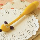 Yellow Mouse Flexi Pen cartoon bendable ballpen