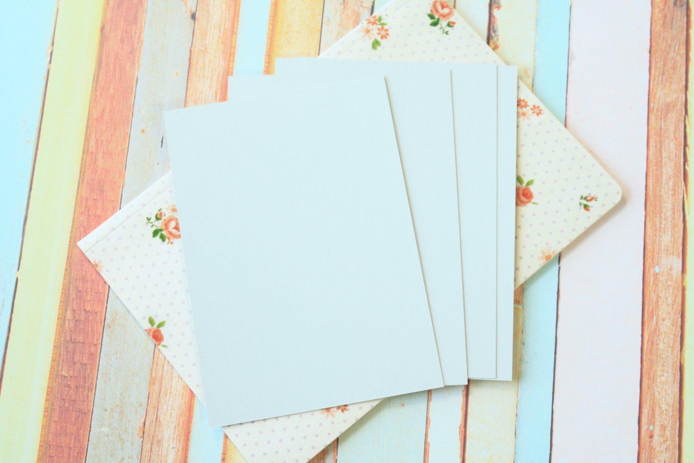Ash Grey Craft Style blank postcards