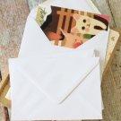 Smooth White plain C6 banker envelopes