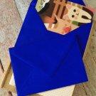 Royal Blue plain C6 banker envelopes