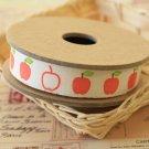 Apples cartoon cotton sewing tape ribbon