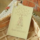 Anniversary East of India printed gift tags