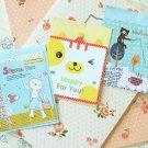 Set 02 Cute Mini Cartoon blank greeting cards