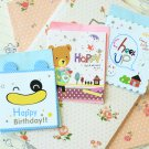 Set 03 Cute Mini Cartoon blank greeting cards